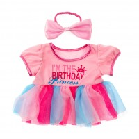 Birthday Princess & Boucle  Vêtements 40 cm