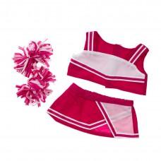 Cheerleader rose & blanc