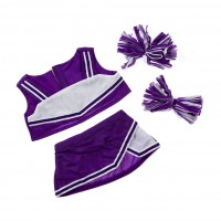 Cheerleader Mauve & Blanc Vêtements 40 cm
