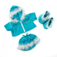 Majorette Bleue  Vêtements 40 cm