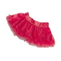 Jupe Tutu Satin Rouge Vêtements 40 cm