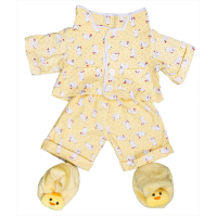 Pyjama Jaune Chicken Vêtements 40 cm