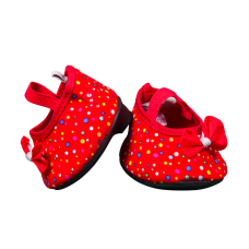 Souliers Talons Rouge Pois