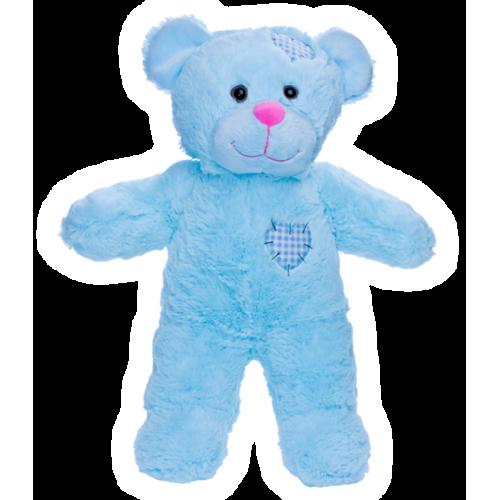 ours bleu coeur 40 cm - Ours Coeur