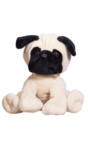 Chien Pug 40 cm Chiens & Chats