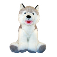 Chien Husky 40 cm Chiens & Chats