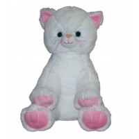 Chat Blanc 40 cm Chiens & Chats